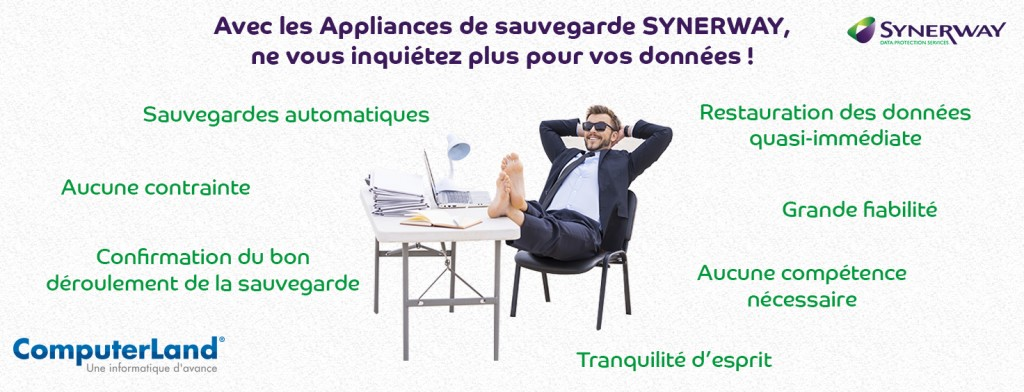 Solution de sauvegarde Synerway