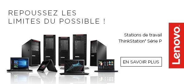 Lenovo ThinkStation station de travail
