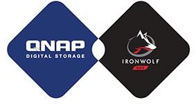 QNAP recommande les HDD Seagate Iron Wolf pour sa gamme de NAS