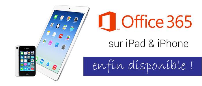 Office 365 Pour IPad