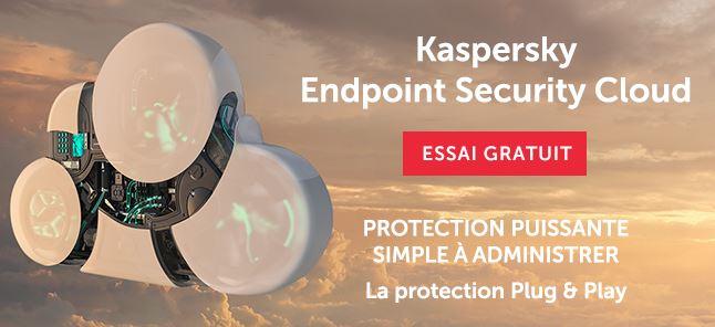 Kaspersky Cloud la meilleure protection contres les virus et les ransomwares