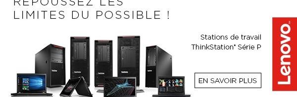Lenovo stations de travail ThinkStation